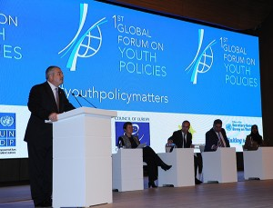 Magdy Martínez-Solimán hails the First Global Forum on Youth Policies as the most important youth forum of the decade