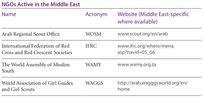 NGOs in the Middle East and North Africa