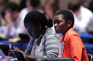 Delegates at the Y20 Youth Summit
