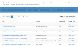 The redesigned library of youthpolicy.org